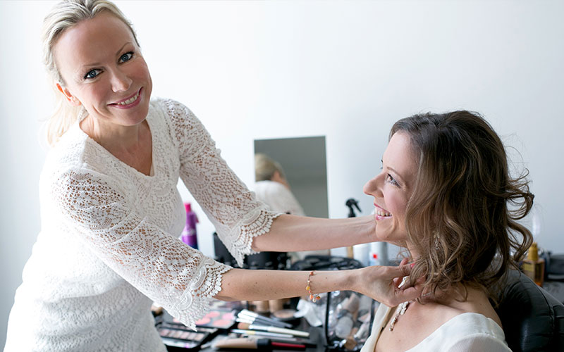 Jula Hoepfner - Make-up-Workshop